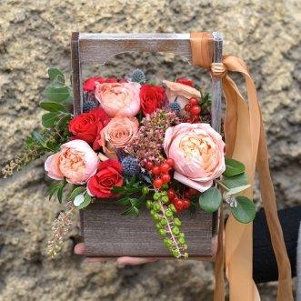 Пионовидные и кустовые розы